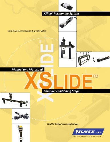 XSlide Spec Overview