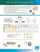 PFE® Type SFN® Spinning Flare Nut