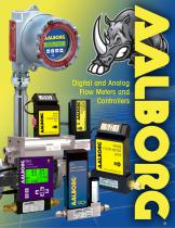 Digital and Analog Flow Meters Literature