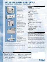 9000S - SULFUR ANALYZER HORIZONTAL - 2