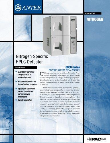 MODEL 8060 NITROGEN HPLC DETECTORS