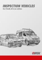 Brochure Inspection vehicles