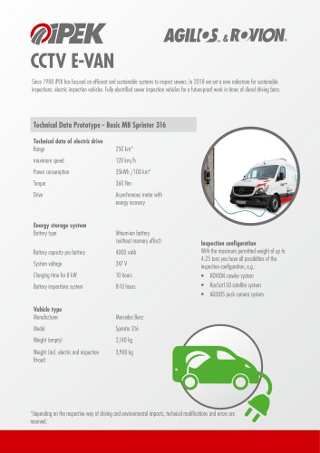 CCTV E-Van