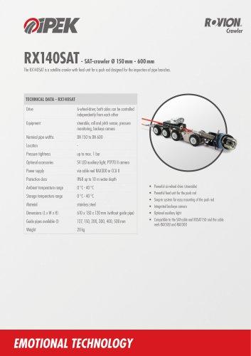 RX140 SAT Crawler