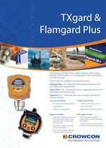 TXgard and Flamgard Plus Flammable gas detector with display