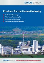 DURAG Products for the Cement Industry