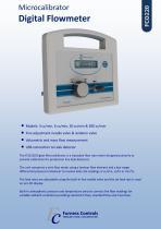 FCO210 - Microcalibrator - Digital Flowmeter