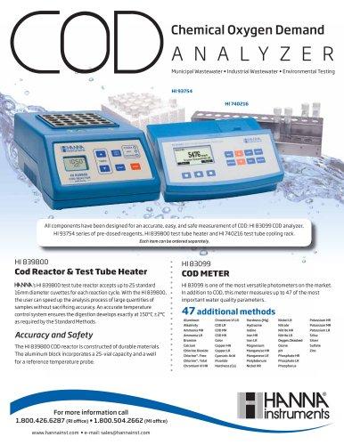 COD METER plus Cod Reactor & Test Tube Heater