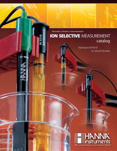 Ion Selective Electrodes Catalog