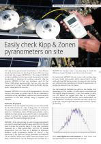 Easily check Kipp & Zonen pyranometers on site