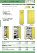 """Chemicals and poisons cabinets """"ECO"""""""