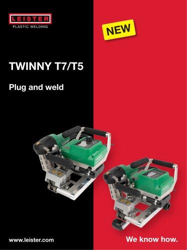 Automatic welder TWINNY T7/T5