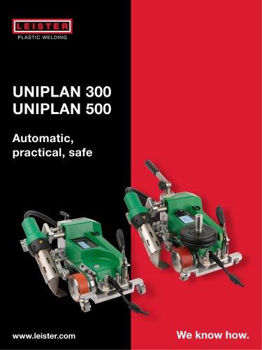 Automatic welder UNIPLAN 300/500