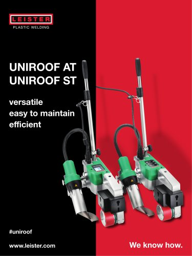 Automatic welder UNIROOF AT/ST