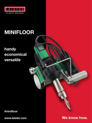 Automatic welders MINIFLOOR