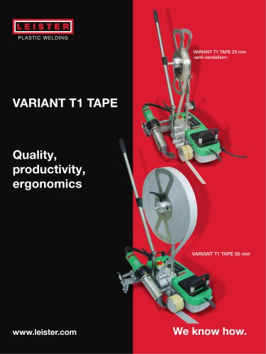 Automatic welders VARIANT T1