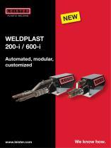 Extrusion welder WELDPLAST 200-i/600-i
