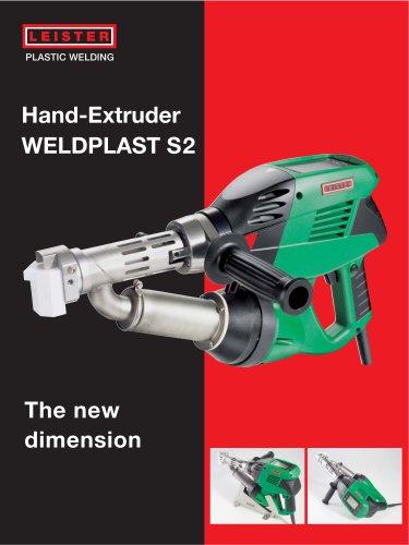 Extrusion welder WELDPLAST S2
