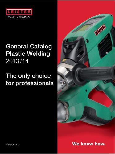 General Catalog Plastic Welding
