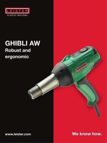 Hot-air hand tool GHIBLI AW