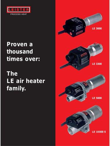 The LE air heater family.
