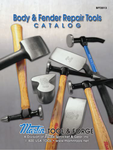 Body & Fender Tool Catalog