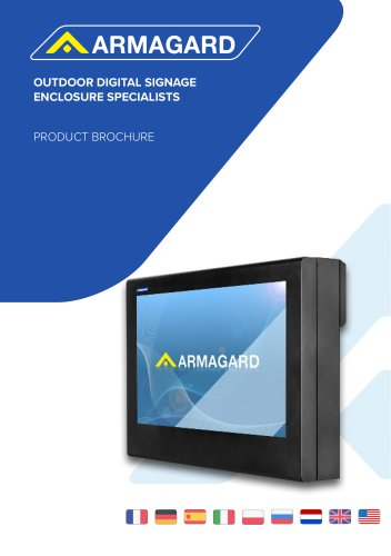 Armagard Digital Signage Specialist