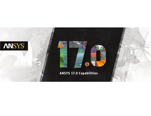 ANSYS 17.0 Capabilities