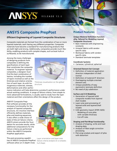 ANSYS Composite PrepPost