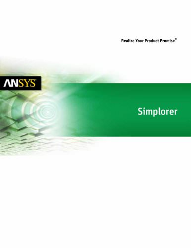 ANSYS Simplorer
