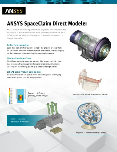 ANSYS SpaceClaim Direct Modeler