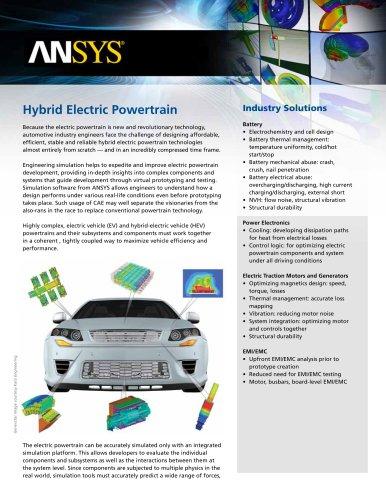 Hybrid Electric Powertrain