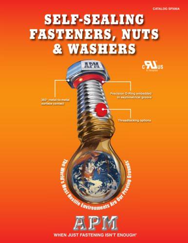 Catalog for Self-Sealing Fasteners, Threadlockers & Self-Sealing Washers