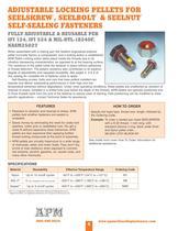 Catalog for Self-Sealing Fasteners, Threadlockers & Self-Sealing Washers - 8
