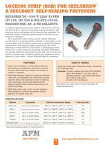 Catalog for Self-Sealing Fasteners, Threadlockers & Self-Sealing Washers - 9