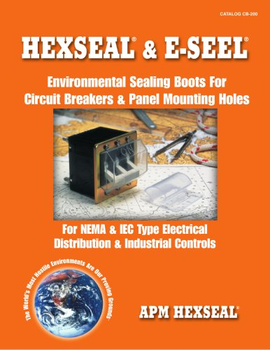 Hexseal & E-Seel  - Environmental Sealing Boots for Circuit Breakers & Panel Mounting Holes