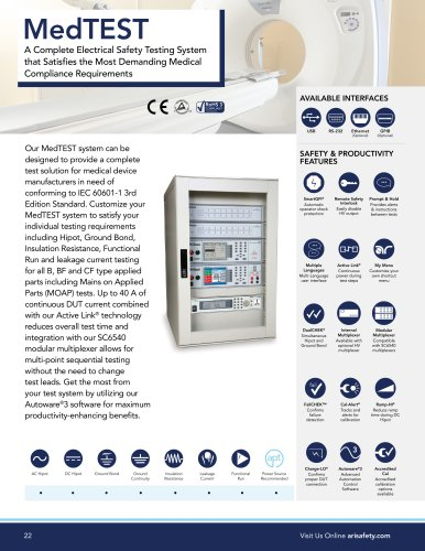 MedTEST Medical Device Testing System