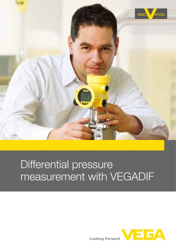 Differential pressure measurement with VEGADIF