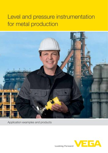 Level and pressure instrumentation for metal production