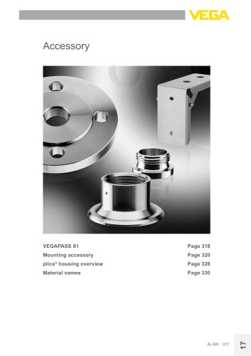 Product catalogue: Accessory