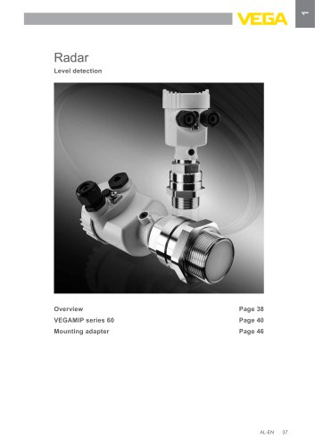 Product catalogue: Radar VEGAMIP (Switching)