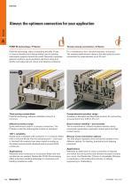 Modular terminal blocks Catalogue 2014/2015 - 10