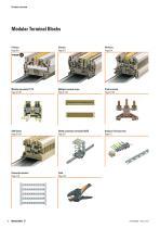Modular terminal blocks Catalogue 2014/2015 - 6