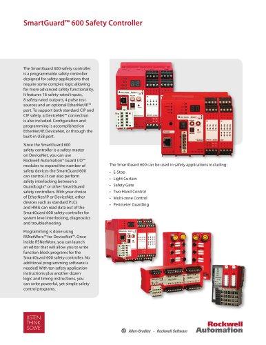 SmartGuard? 600 Safety Controller