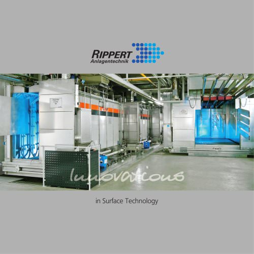 Innovations for surface technology