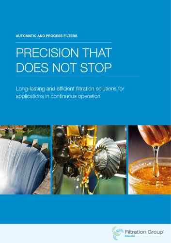 Filtration Group Automatic and Process Filtration