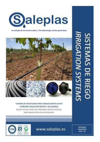 Polyethylene Pipes For Pressure Water Systems, Drip Irrigation And Accessories