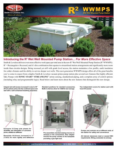 R2 Wet Well Mounted Pump Station