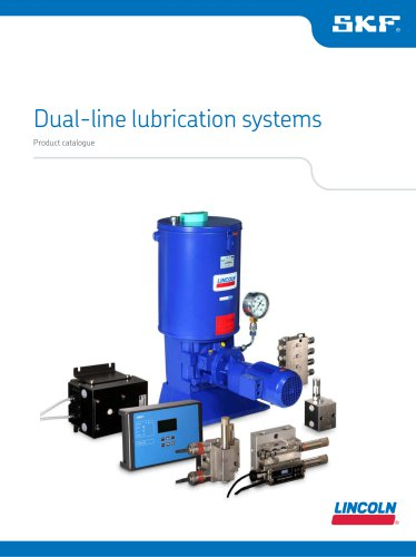 Dual-line lubrication systems