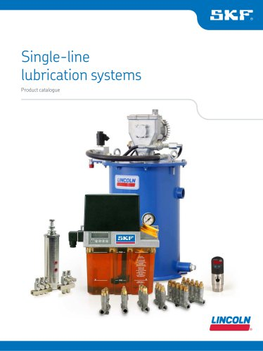 Single-line lubrication systems